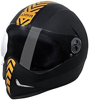 Steelbird SB-50 Adonis Dashing Black Golden with Plain visor,600mm