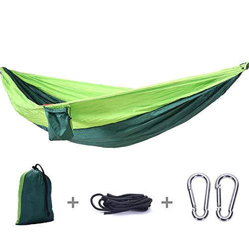 HOODLE Parachute Doek Hangmat, Outdoor Hangmat Tuin Patio Lounge Camping Bed Swinging 300KG Stof met Touwen