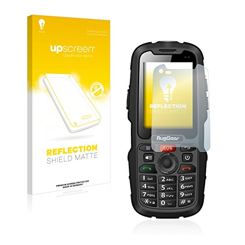 upscreen Entspiegelungs-Schutzfolie kompatibel mit RugGear RG310 – Anti-Reflex Bildschirmschutz-Folie Matt