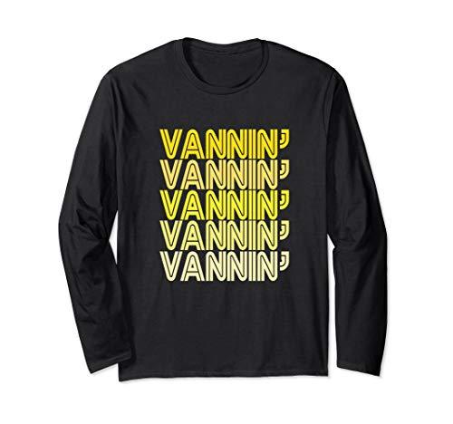 VANNIN Yellow Retro Vanner Vanning Nation Van Lifestyle Long Sleeve T-Shirt