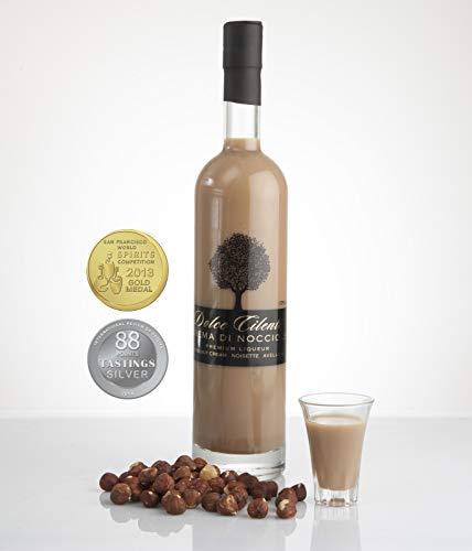 Licor Crema De Avellanas - Dolce Cilento Nocciole Licor Crema Italiana (2 Medallas) (700ml)