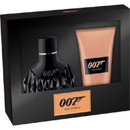 James Bond 007 Woman Eau de Parfum Spray 30 ml + Shower Gel 50 ml, 80 ml