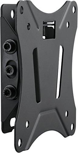 SCHWAIGER -9352- TV-Wandhalterung neigbar für Displays mit 33-74 cm BZW. (13-29 Zoll) | Halterung für LED 4K OLED | max. Belastung 25 Kg | Wand-Abstand bis zu 1,25 cm | max. VESA-Norm 100x100