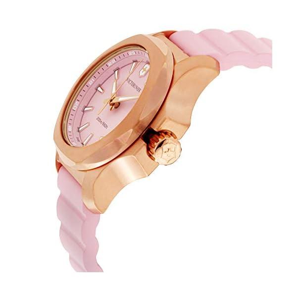 Victorinox INOX Reloj para Mujer Analógico de Cuarzo con Brazalete de