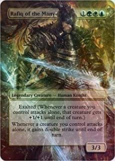 Rafiq of the Many - Casual Play Only - Customs Altered Art Foil