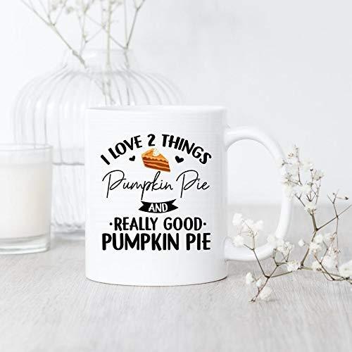 N\A Calabaza del Amor de I Taza de Pie Taza Teahanksgiving del Pastel de Regalo del Amante del Pastel de Calabaza Taza del Regalo Teahanksgiving caída del Regalo del café otoño