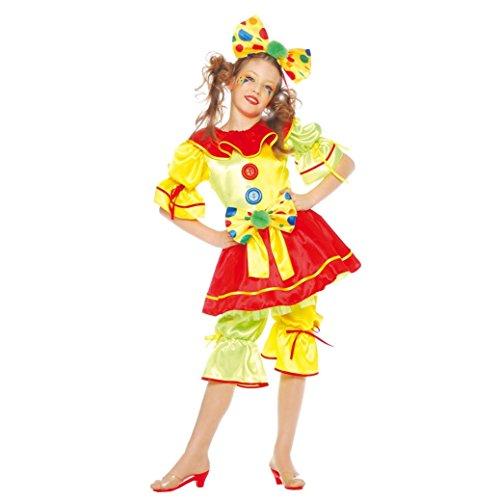 Disfraz de payasita guasona para niña - 4-6 años