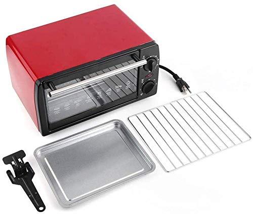 SONGYU Mini Forno Elettrico da 9 Litri, tostapane da banco Multifunzione a convezione, Cottura in lamiera zincata per Uso Domestico con stoviglie