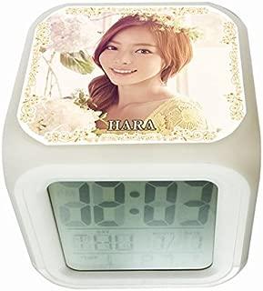 KARA カラ HARA ハラ 光る時計 置き時計 デジタル時計 目ざまし時計