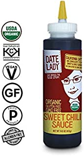 Date Lady Organic Sweet Chili Sauce | No Corn Syrup or Cane Sugar | No Added Flavors or MSG
