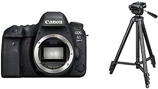 Canon キヤノン デジタル一眼レフカメラ EOS 6D Mark II ボディ EOS6DMK2-A ブラック + 三脚セット