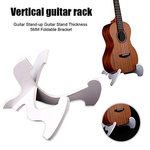 Lanbowo Gitarrenständer PVC X-Frame Gitarre Haken Gitarre wand Halterung Wandhalterung Gitarre Akustikgitarre klassische Gitarre E-Gitarre Portable 5 MM Dicke Faltbare Saiteninstrumentenhalter