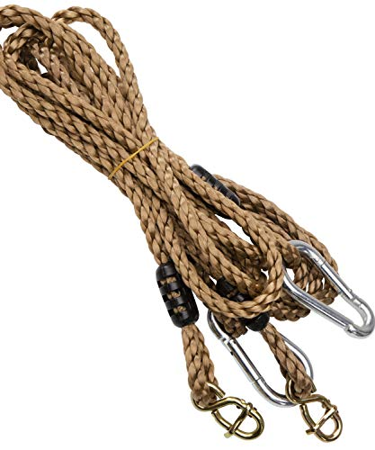 Jaques of London Premium Adjustable Schaukel Seil | Schaukel | Schaukel Garten | Schaukel Outdoor | Schaukel Kinder | Seit 1795