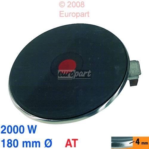 Placa de cocción 180 mm de diámetro, 2000 W 230 V AT EGO 13.18463.404 1318463404