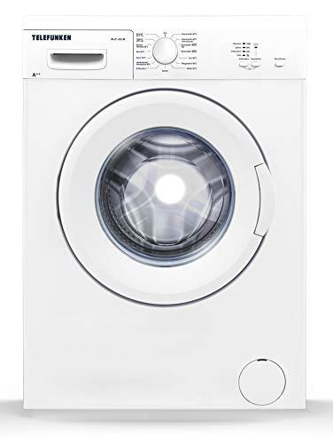 Telefunken W-01-50-W Waschmaschine (5 kg / 1000 U/Min) mit Mengenautomatik und Überlaufschutz