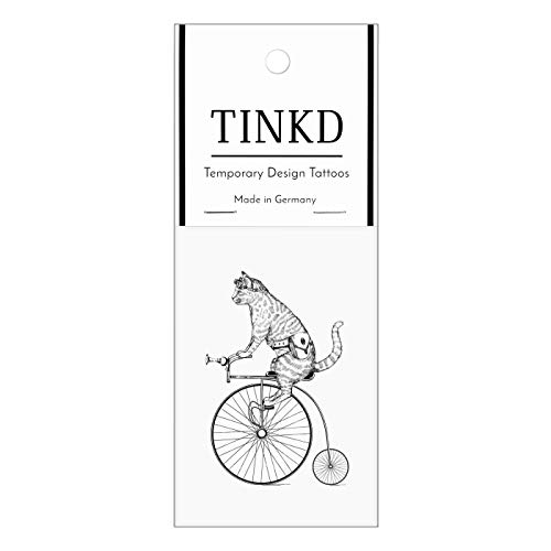 TINKD Tattoo temporär | Rockabilly Tattoo im Vintage Look | Made in Germany