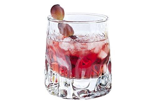 Durobor 342/25 Quartz vetro del whisky 250ml, 6 bicchieri, senza contrassegno di riempimento, 6 Unità