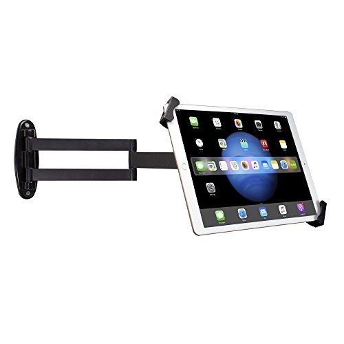 "CTA Digital: Articulating Security Holder for 7-13"" Tablets/iPad 10.2-inch (7th & 8th Gen), iPad Air 3, iPad Mini 5, 12.9-inch iPad Pro, 11-inch iPad Pro, iPad Gen 6,/Surface Pro 4 & More"