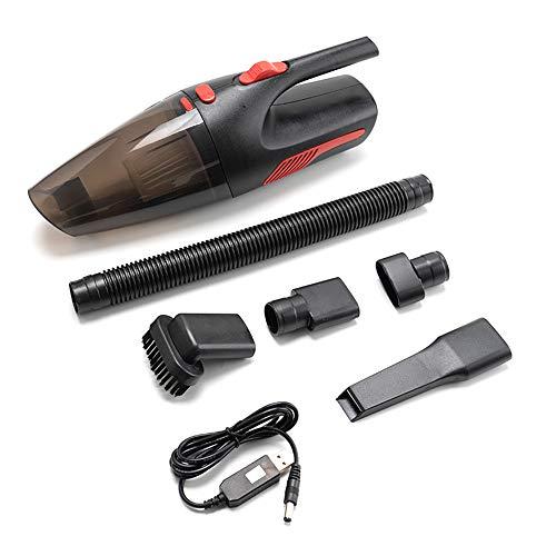 Aspirador de Coche portátil de Mano inalámbrico/Enchufe de Coche 120W 12V 5000PA súper aspiradora de Humedad/seco para el hogar del Coche