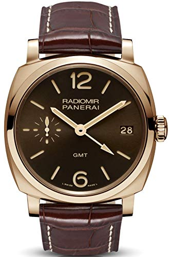 Panerai Radiomir 1940 3 Day Power Reserve GMT Oro Rosso Rose Gold 47mm Watch PAM00570
