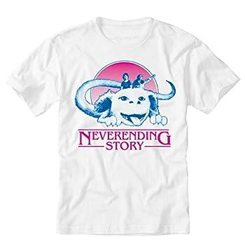 TeeINKS Stranger Things Neverending Story White T Shirt  XXX-Large