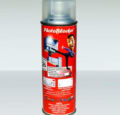Zade Reflective Red Light Speed Camera Spray