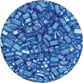 CK Products 4 Ounce Sugar Crystals Pearlized Bottle, Blue
