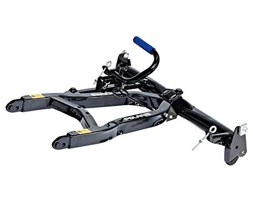 Polaris Glacier Pro Lock & Ride Steel ATV Plow Frame, Black