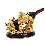Casier à vin Feng Shui Dragon Ornements Bouteille De Vin Plateau Bureau Bureau Armoire À Vin Décoration Chanceux Salon...