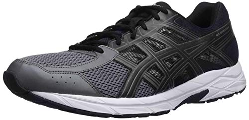 ASICS Men's Gel-Contend 4 Running Shoe, Dark Grey/Black/Carbon, 8.5 Medium US