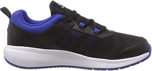 Reebok Road Supreme, Zapatillas de Running Unisex Niños, Negro (Black/Vital Blue/White Black/Vital Blue/White), 34.5 EU
