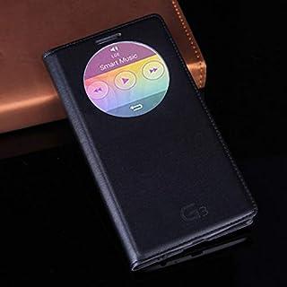 حافظات فليب - حافظة هاتف جلدية فاخرة بمنظر ذكي لهواتف G3 Optimus D855 D850 D 855 D856 LGG3 G 3 D857 D859 F400 F400k Auto S...