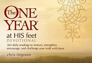 [(The One Year at His Feet Devotional : 365 Daily Readings to Instruct, Strengthen, Encourage, and Challenge Your Walk with Jesus)] [By (author) Chris Tiegreen] published on (May, 2011)