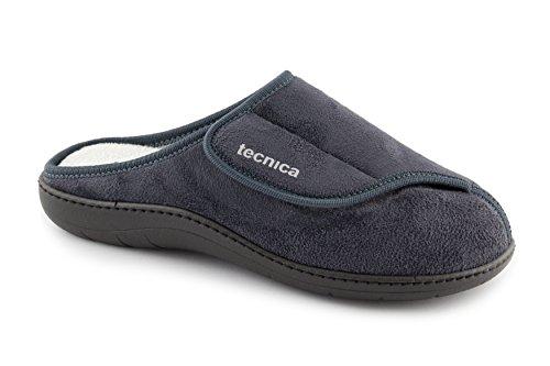 Tecnica 6 - Pantofole Ortopediche Made in Italy con Sottopiede Estraibile (47/48)