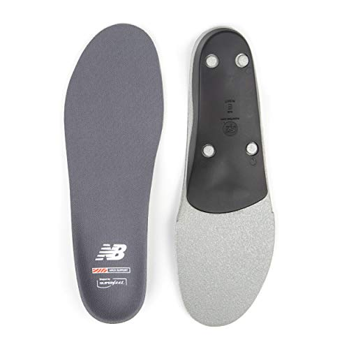 New Balance Casual Arch Support Insole, Monument, Small/6.5-8 Wmns/5.5-7 Mens