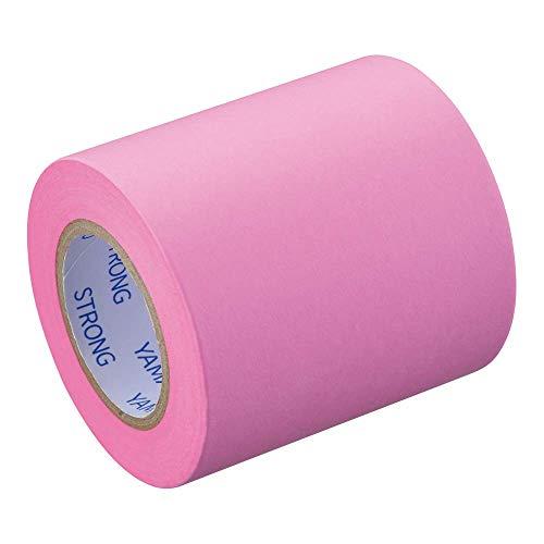 ヤマト 付箋 メモック ロールテープ 強粘着 つめかえ用 50mm×10m ピンク PRK-50H-RO ×10 セット