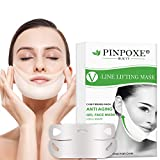 V Face Masks, V Line Mask, Chin Up Patch, Facial Anti-Wrinkle Mask, Double Chin Reducer Lifting Face Mask, V-shape Facial Moisturizing Firming Mask, 5pcs