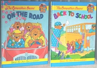 The Berenstain Bears on the Road & Back to School (Family Time Books)