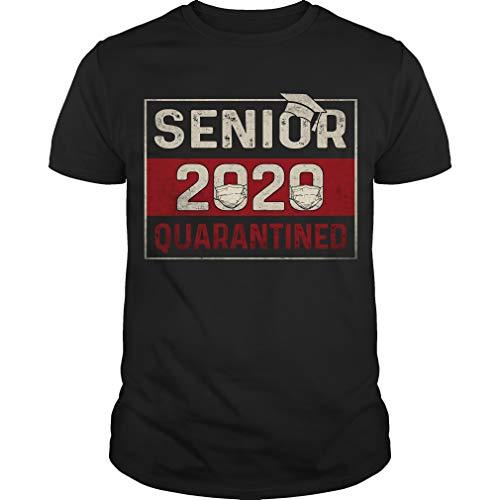 HWAYEONKIM Class of 2020 Quarantine Senior 2020 Quarantined Funny T-Shirt T-Shirt Medium