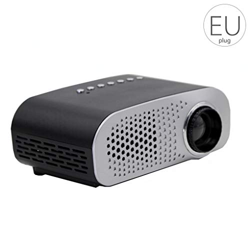 Beaums GP802A tragbare Mini-LED-Projektor 1080P Multimedia Home Cinema Theater USB SD-HD-AV VGA-LED-Projektor