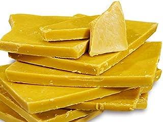 Prasadhak Unrefined Raw Beeswax Block 100% Pure Natural -Yellow for Candle Making Lip Balm DIY Skincare Cosmetic soap Maki...