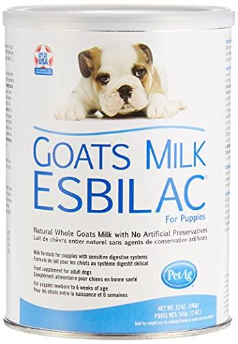 PetAg Esbilac Goat's Milk Powder Puppy Milk Replacer - Milk Formula for Puppies with Sensitive...