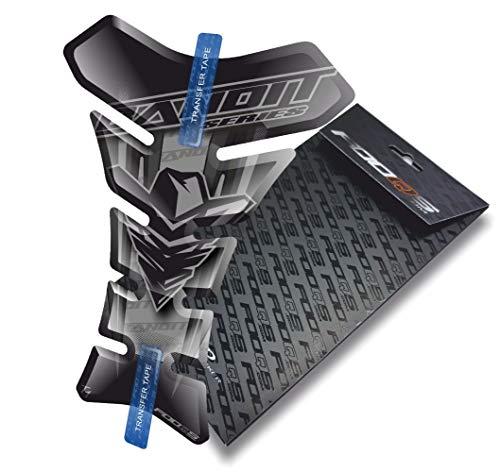 Tankpad pour Suzuki Gsf 600 650 1200 1250 Bandit (Argent)