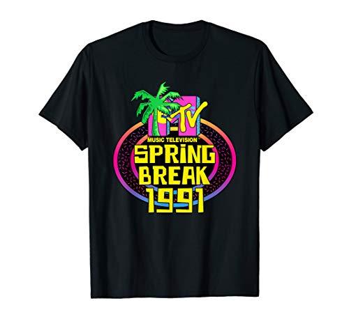 MTV Spring Break 1991 Classic Logo T-Shirt