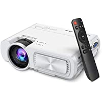 SeeYing T5 1080p Mini Projector (White)
