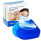 Snoring Solution Device, Snore Stopper Guard for Stop Snoring, Prevent Bruxism for Men/Women Comfortable Sleep Well
