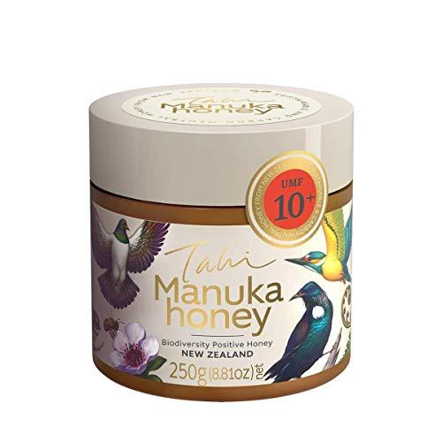Tahi Miel de Manuka UMF 10+ (MGO 263) Manuka Honey, 250g: Premium, sustainable and 100% natural raw New Zealand honey