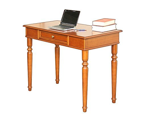Schreibtisch 1 Schubladen Holzplatte