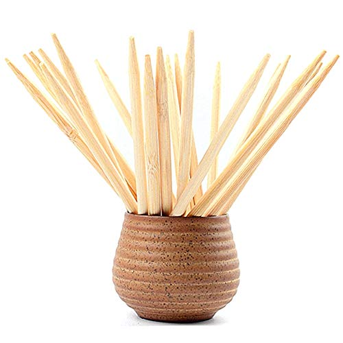 7 Inch Sturdy Bamboo Skewers - (100 pcs)