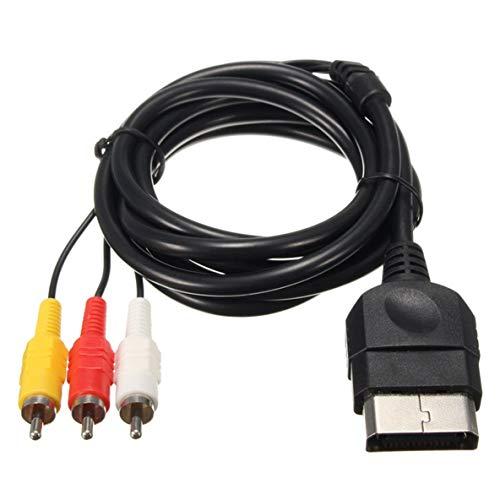 Monlladek 1x 6FT AV-Audio-Video-Composite-Kabel Kabel Cinch-Kabel Für Xbox Classic 1-Fernseher oder -Monitor mit Standardauflösung